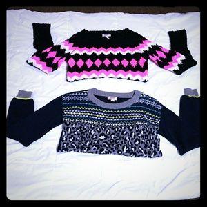 Bundle Almost new Arizona sweaters
